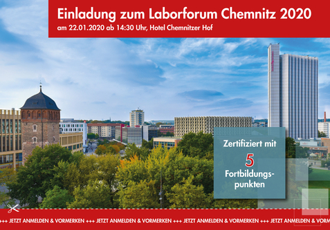Januar 2020: Laborforum in Chemnitz